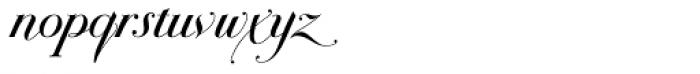 Bodonian Script 2 Font LOWERCASE