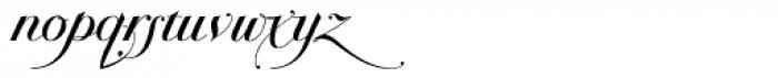 Bodonian Script 6 Font LOWERCASE