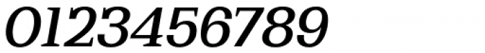 Bodrum Slab 15 Medium Italic Font OTHER CHARS