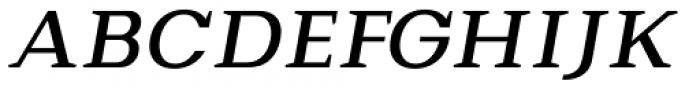 Bodrum Slab 15 Medium Italic Font UPPERCASE