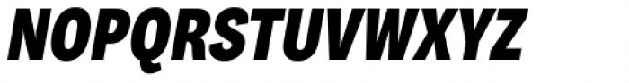 Body Grotesque Slim Extra Bold Italic Font UPPERCASE
