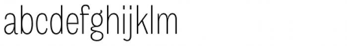 Body Grotesque Slim Light Font LOWERCASE
