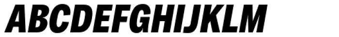 Body Text Slim Extra Bold ITalic Font UPPERCASE
