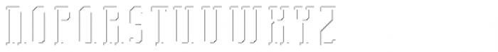 Bodybuilder Inner Shadow FX Font UPPERCASE