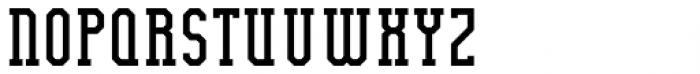 Bodybuilder Regular Font UPPERCASE