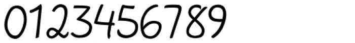 Bodyhand Regular Font OTHER CHARS