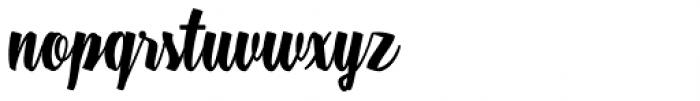 Boemia Font LOWERCASE