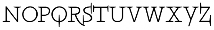 Boeotian Alt Font UPPERCASE