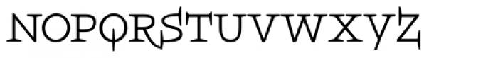 Boeotian Alt Font LOWERCASE
