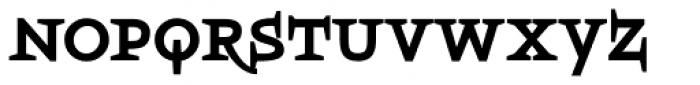 Boeotian Bold Alt Font LOWERCASE