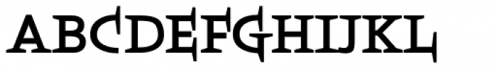 Boeotian Bold Font UPPERCASE
