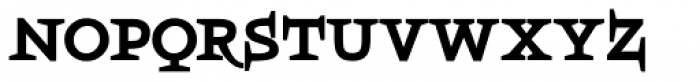 Boeotian Bold Font LOWERCASE
