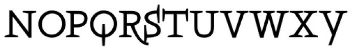 Boeotian Demi Alt Font UPPERCASE