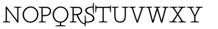 Boeotian Font UPPERCASE