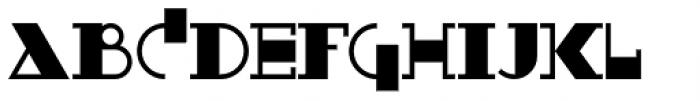 Boeuf Au Joost NF Font UPPERCASE