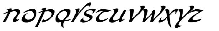 Bogdan Siczowy Cursive Font LOWERCASE