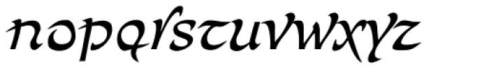Bogdan Siczowy Regular Font LOWERCASE