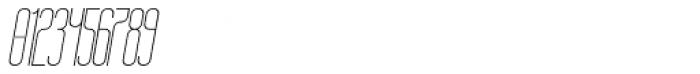 Bohema Uppercase Light Italic Font OTHER CHARS