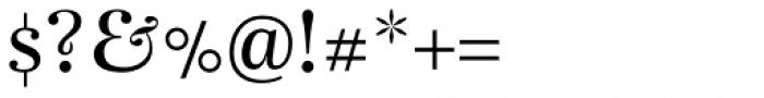 Bohemia Regular Font OTHER CHARS