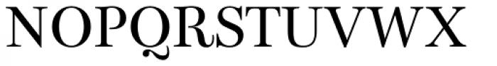 Bohemia Regular Font UPPERCASE