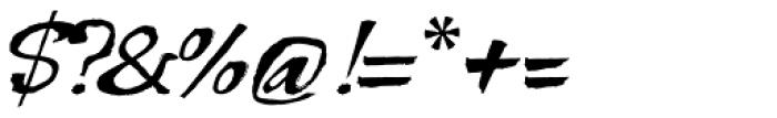 Bohemio Font OTHER CHARS