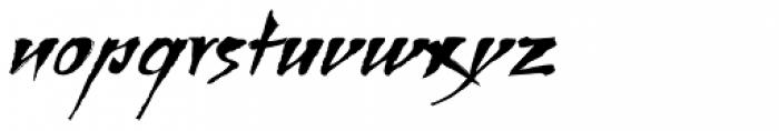 Bohemio Font LOWERCASE