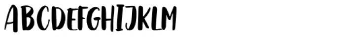 Boho Rose Regular Font UPPERCASE