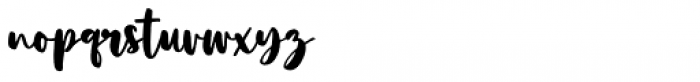 Boho Rose Regular Font LOWERCASE