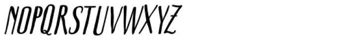 Boho Sans Bold Italic Font UPPERCASE