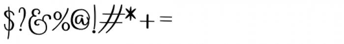 Boho Script Drop Bold Font OTHER CHARS