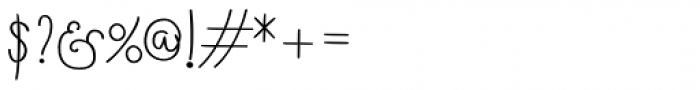 Boho Script Line Bold Font OTHER CHARS