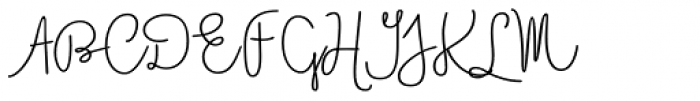 Boho Script Line Bold Font UPPERCASE