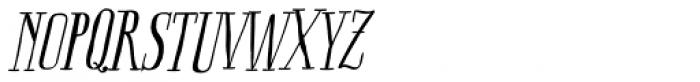 Boho Serif Italic Font UPPERCASE