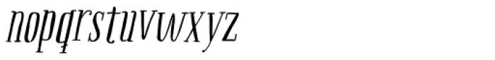 Boho Serif Italic Font LOWERCASE