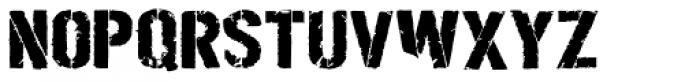 Boilerplate Bold Stencil Font UPPERCASE