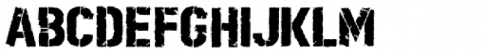 Boilerplate Bold Stencil Font LOWERCASE