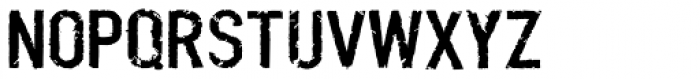 Boilerplate Font UPPERCASE
