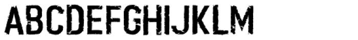 Boilerplate Font LOWERCASE