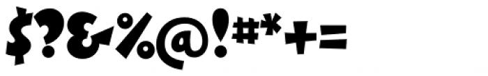 Boink Std Font OTHER CHARS