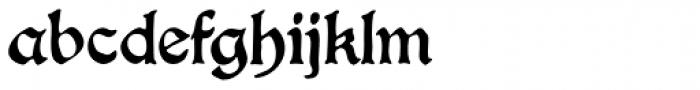 Boister Black Pro Font LOWERCASE