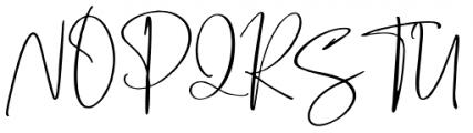 Boisterous Script Regular Font UPPERCASE