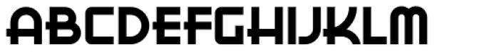 Bokar Font UPPERCASE