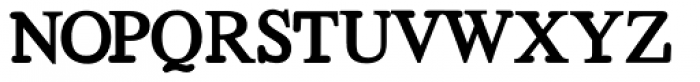 Bold Regeneration X Font UPPERCASE