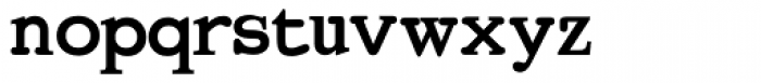 Bold Regeneration X Font LOWERCASE