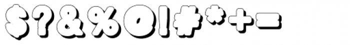 BoldBold Shadow Font OTHER CHARS