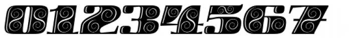 Boldesqo Serif 4F Decor Italic Font OTHER CHARS