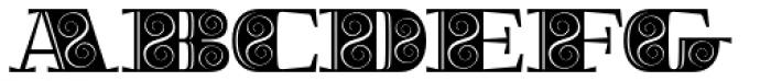 Boldesqo Serif 4F Decor Font UPPERCASE