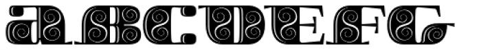 Boldesqo Serif 4F Decor Font LOWERCASE