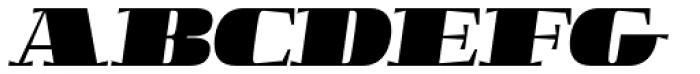 Boldesqo Serif 4F Italic Font UPPERCASE