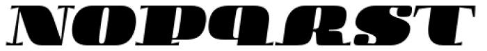 Boldesqo Serif 4F Italic Font LOWERCASE